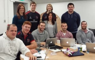 Ulster Rugby's Rising Stars of the Boardroom