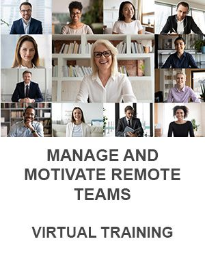 Manage and Motivate Remote Teams (Virtual)