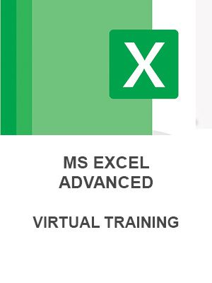 MS Excel Advanced (Virtual - 2 sessions)